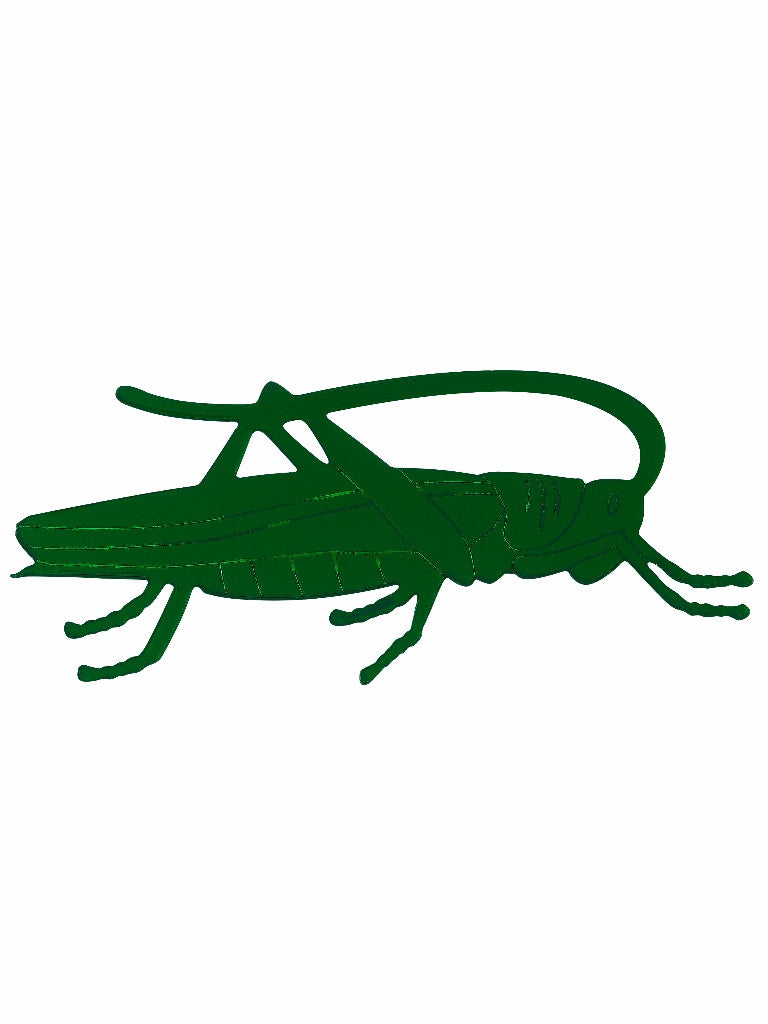 Grasshopper Brooch by Lou Taylor at What You Sow