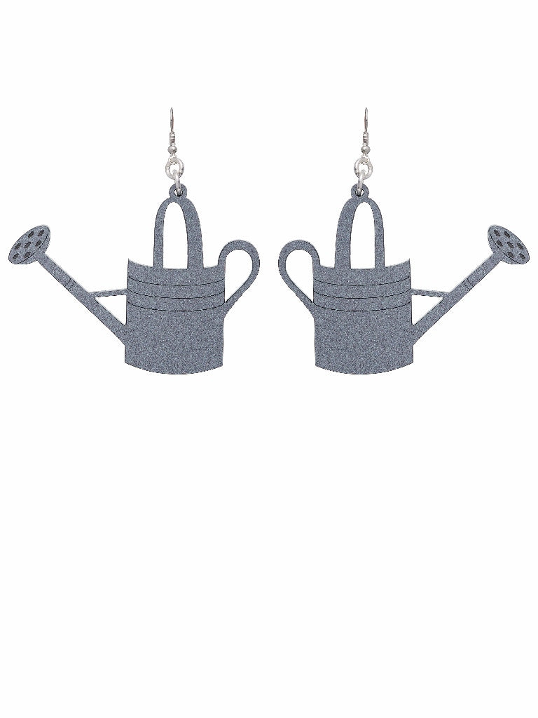 Watering Can Earrings by Lou Taylor at What You Sow