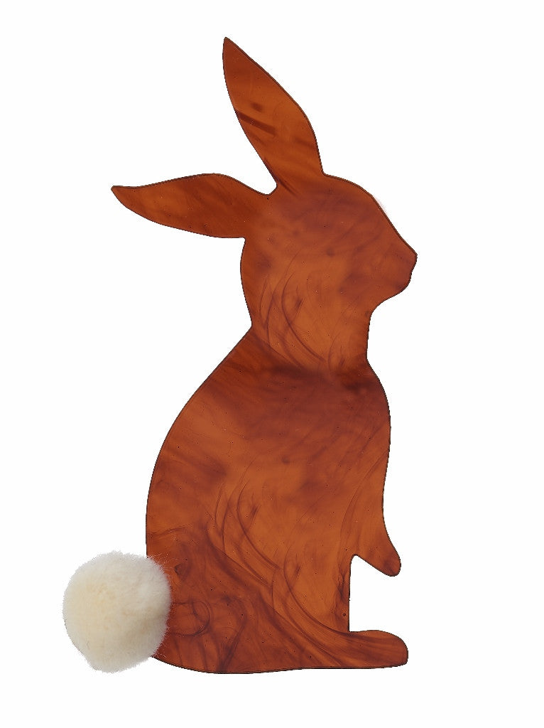 Bunny Brooch by Lou Taylor at What You Sow