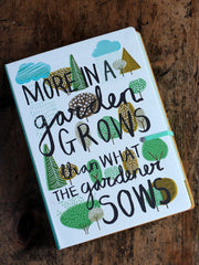 Pretty Garden Journal by The Thoughtful Gardener