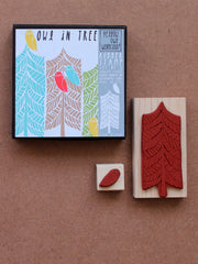 Owl in tree Stamp set by Yellow Owl Workshop at What You Sow