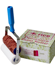 Patterned Paint Roller with handle from What You Sow.