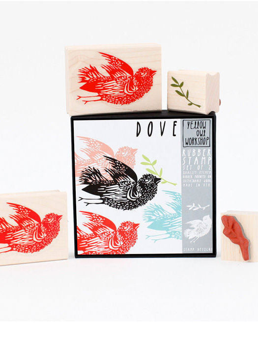 Dove and Vine Stamp set by Yellow Owl Workshop at What you Sow