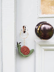 Fair Trade Garden Helpers Keyring