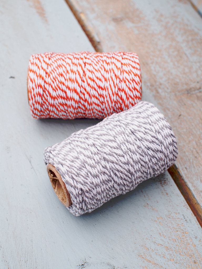 Striped Baker's twine from What You Sow