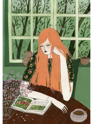 The Reader print by Yelena Bryksenkova