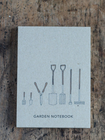 Garden Tools Allotment Pocket Notebook
