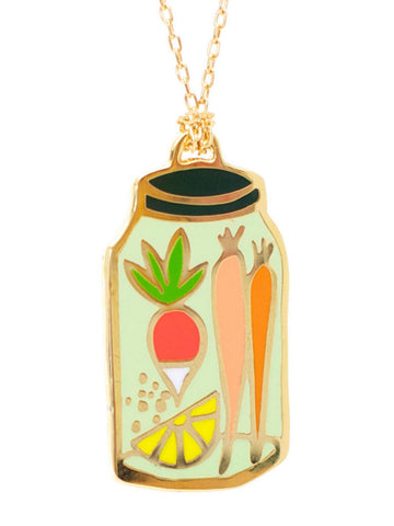 Pendant Canning Jar by Yellow Owl Workshop