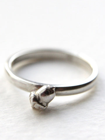 Acorn Ring – Handmade in Sterling Silver