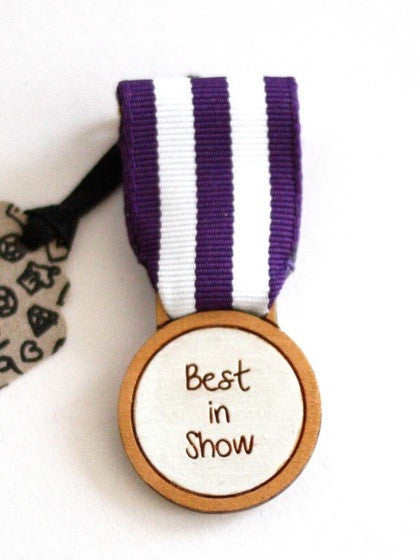 Best in show handmade medal at What You Sow