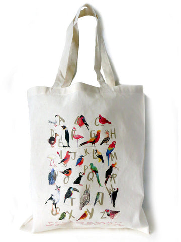 Avian Alphabet Tote bag by Sarah Edmonds