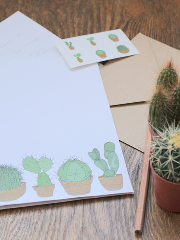Cacti Letter Writing Set