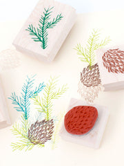 Conifer Stamp set by Yellow Owl Workshop at What You Sow