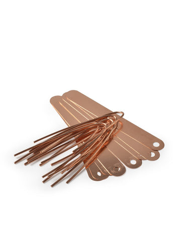 Copper Plant tags - pack of 10