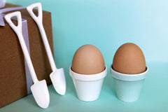 Eggpot & Shovel for Two at What You Sow