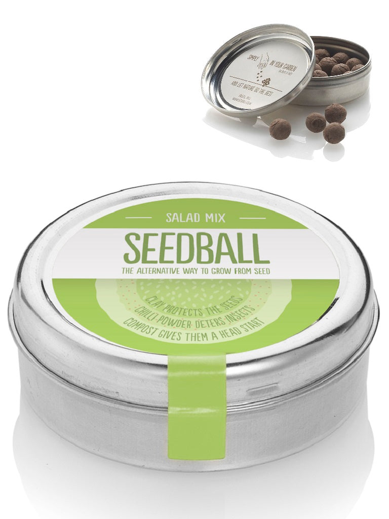 Seed ball Salad mix Tin