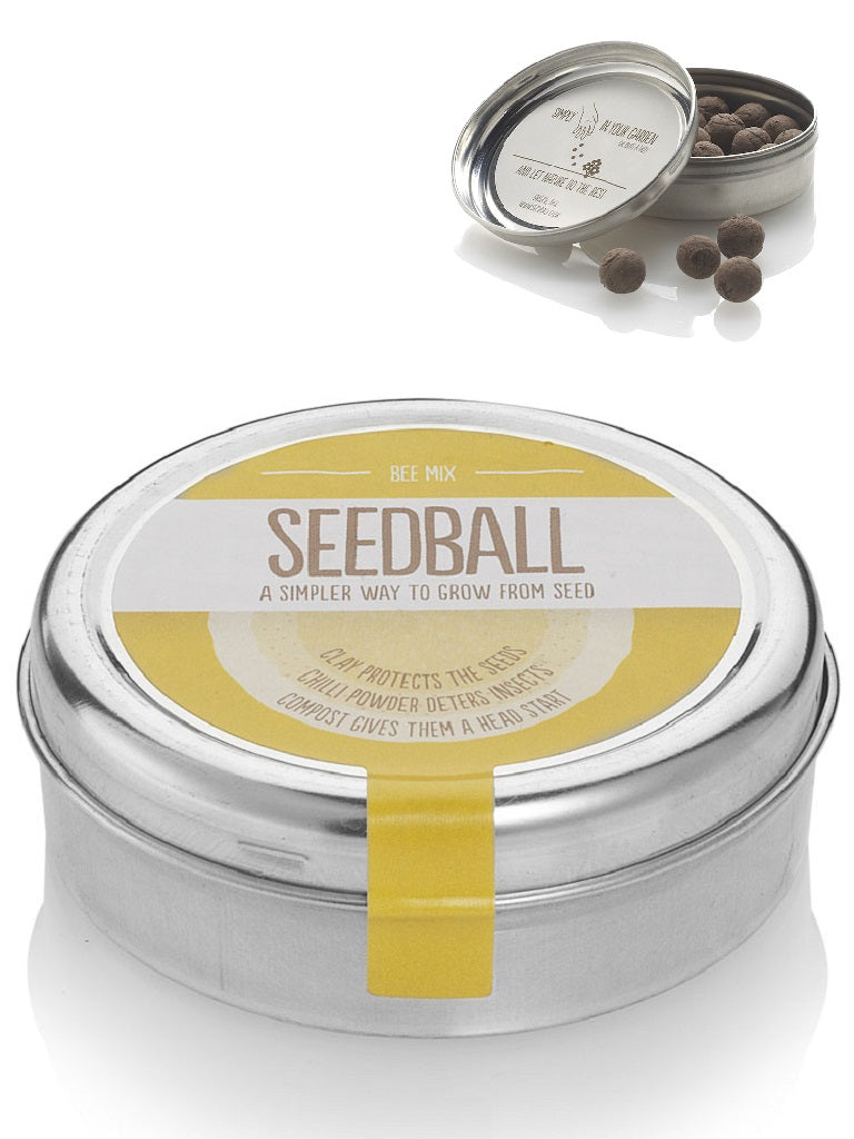 Bee friendly mix Seed ball Wildflower Tin