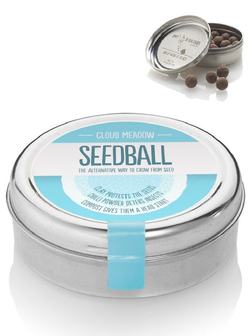 Cloud Meadow Mix Seed ball Wildflower Tin