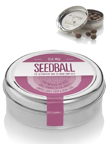 Tea mix Seed ball Wildflower Tin