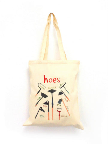 Hoes Tote bag by Sarah Edmonds