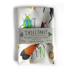 Insectabet Tea towel