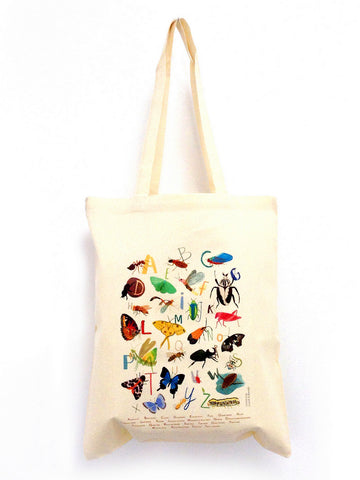 Insectabet Tote bag by Sarah Edmonds