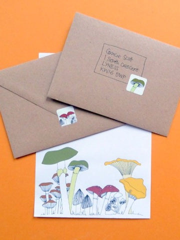 Fungi Letter Writing Set