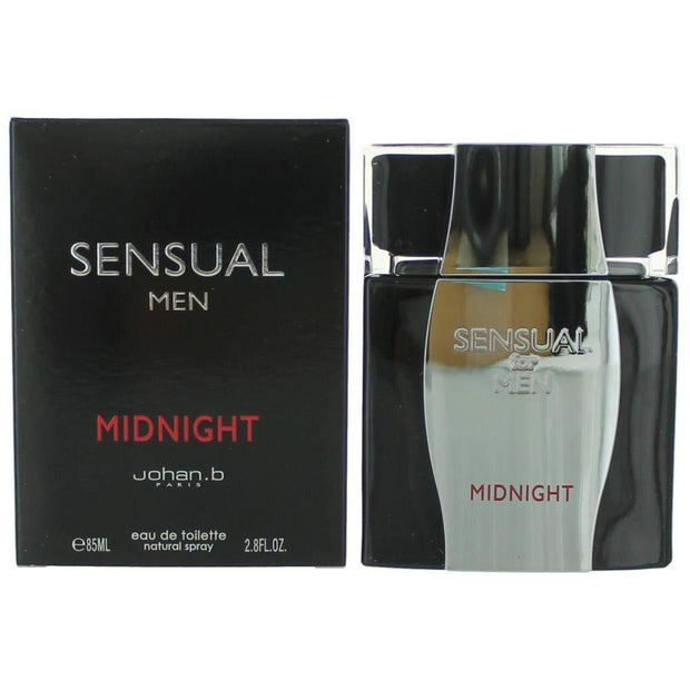 Johan B Sensual Midnight For Men Eau De Toilette 85Ml