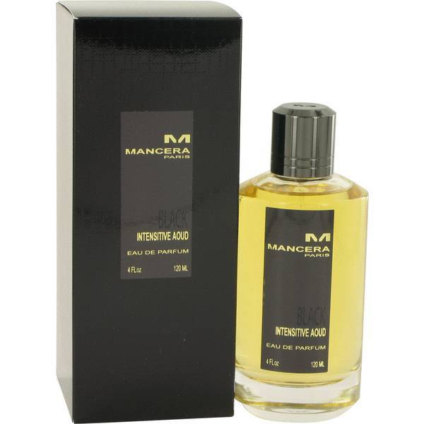 Mancera Black Intensitive Aoud Eau De Parfum 120Ml
