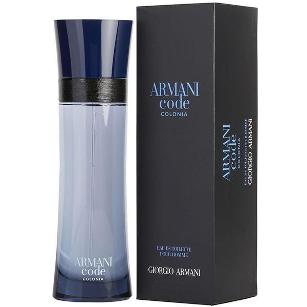 GIORGIO ARMANI ARMANI CODE COLONIA POUR HOMME FOR MEN EAU DE TOILETTE 75ML