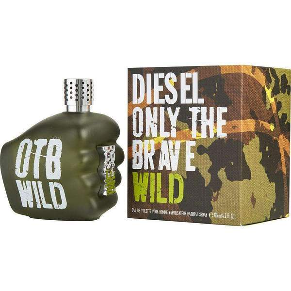 Diesel Only The Brave Pour Homme For Men Eau De Toilette 125Ml