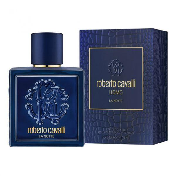 Roberto Cavalli Uomo La Notte For Men Eau De Toilette 100Ml