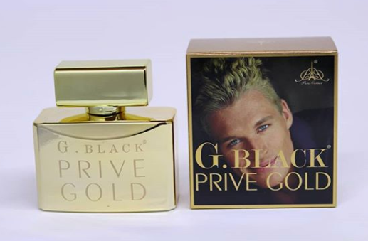 G.BLACK PRIVE GOLD 100ML