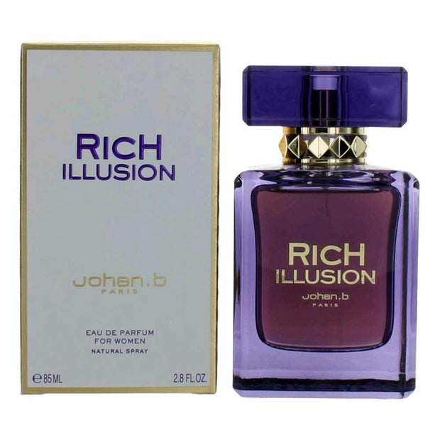 Geparlys Johan.B Rich Illusion For Women Eau De Parfum 85Ml