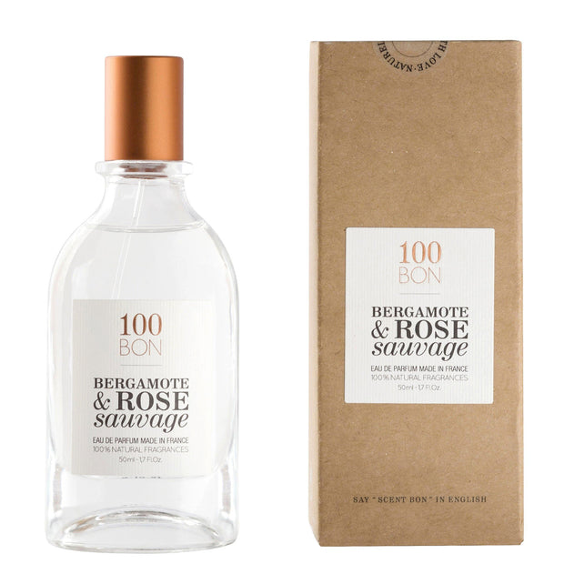 100 Bon Bergamote & Rose Sauvage For Men & Women Eau De Parfum 50Ml