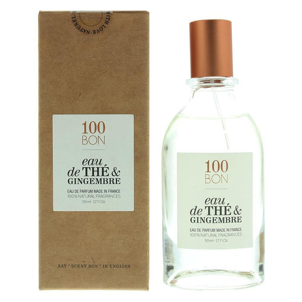 100 Bon Eau De The & Gingembre For Men & Women Eau De Parfum 50Ml