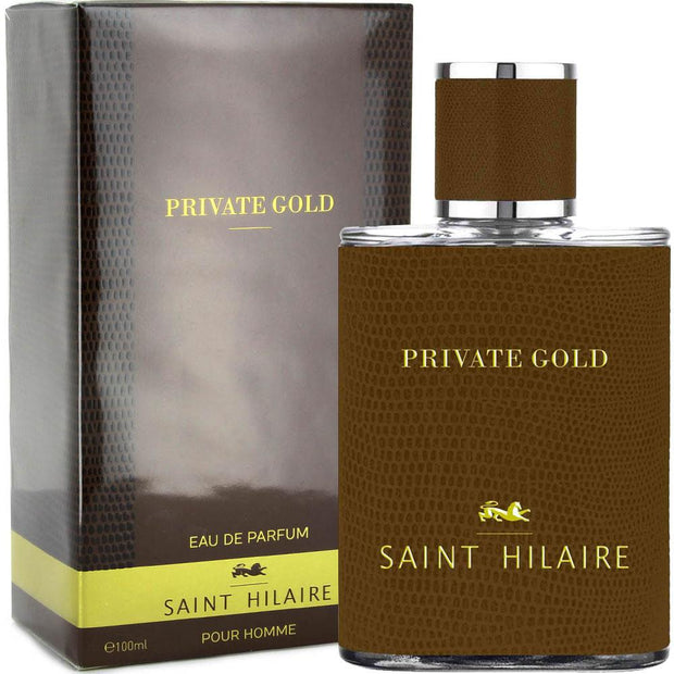 Saint Hilaire Private Gold Pour Homme For Men Eau De Parfum 100Ml