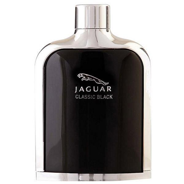 Classic Black By Jaguar Eau De Toilette For Men 100Ml Tester (No Cap)
