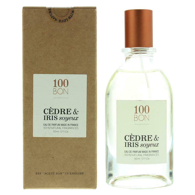 100 Bon Cedre & Iris Soyeux For Men & Women Eau De Parfum 50Ml