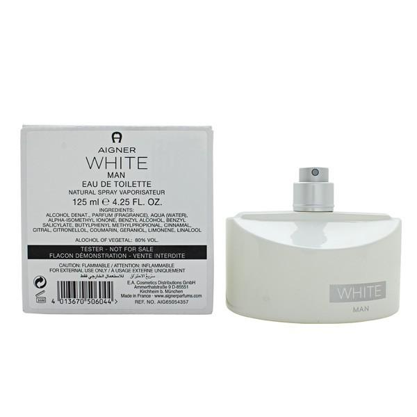 Etienne Aigner White For Men Tester Eau De Toilette 125Ml