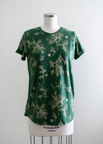 #010 - Organic Camp Tee - Size MEDIUM