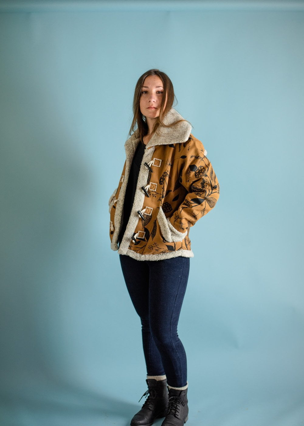 Marty Shearling Jacket -camel