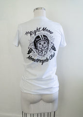 Meowtorcycle Club - vintage women's cut tee