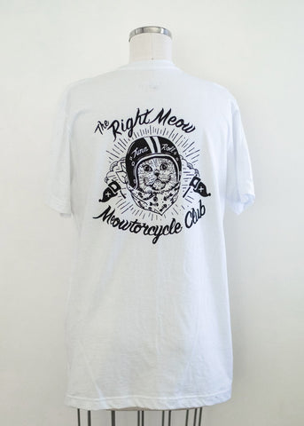 Meowtorcycle Club - vintage unisex t-shirt