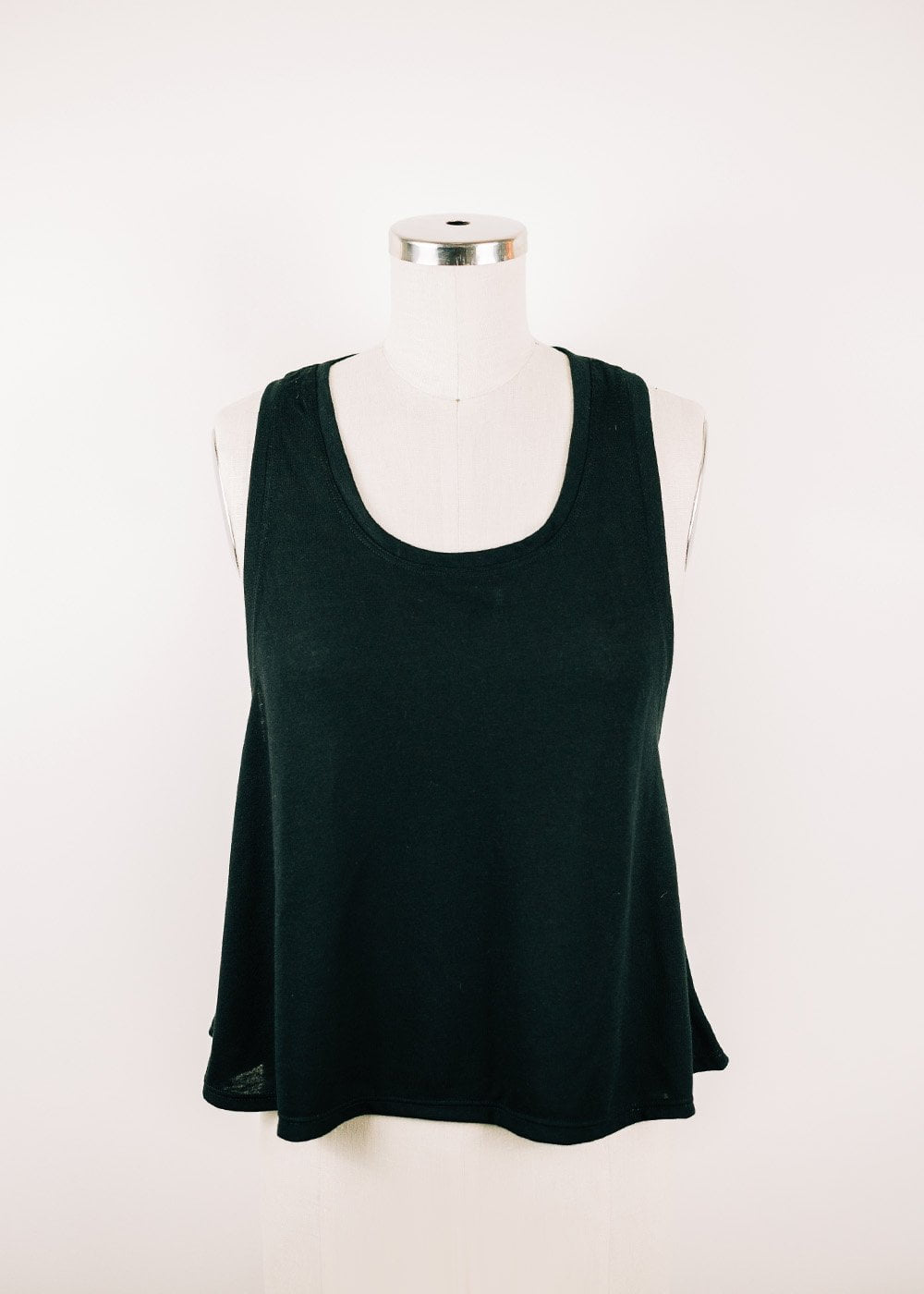 Oona Cropped Racerback Tank - 2 colors