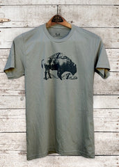 Mountain Buffalo - mens t-shirt