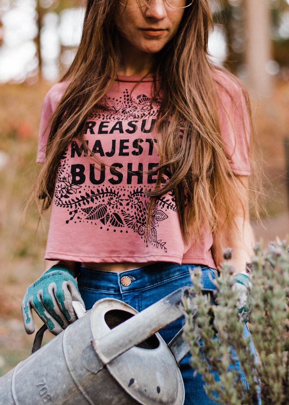 Majestic Bushes - Dusty Rose - 5% donated to Planned Parenthood