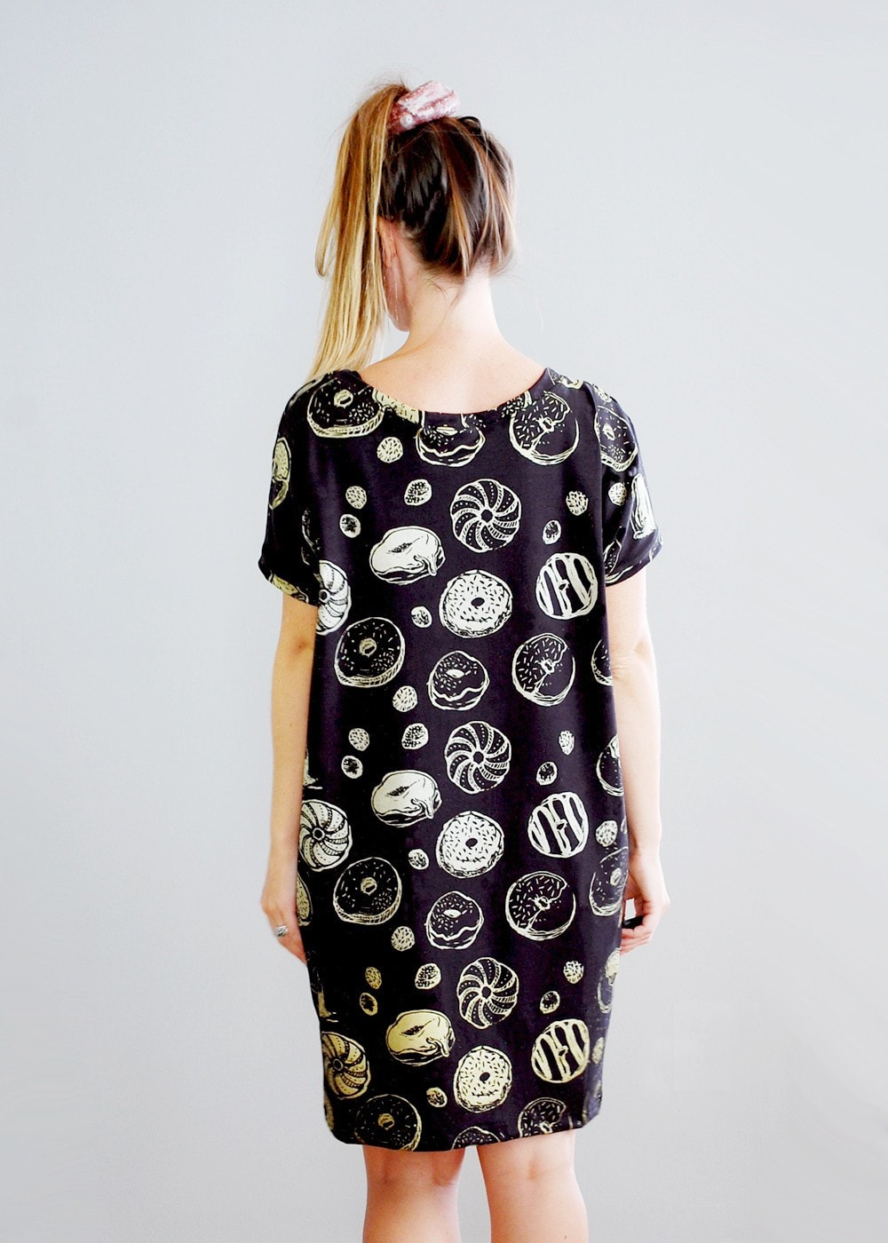Golden Donut - Big Tee T-shirt Tunic - American Milled Fabric