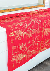 Neuroptera Jersey Fabric - In Imperial Red