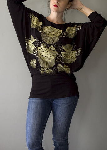 Oracle - Big Tee T-shirt Tunic - Bamboo Organic Cotton